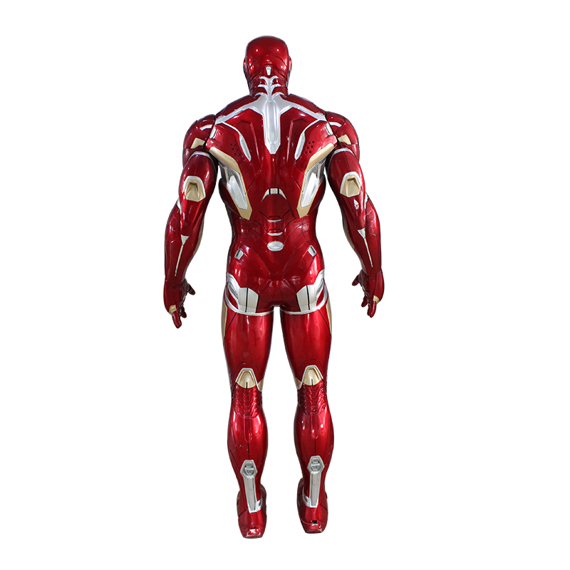casco iron man figurilla iron man estatua